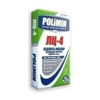 Суміш для підлоги Polimin Нівелір ЛЦ-4 25 кг