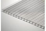 Стільниковий полікарбонат Placarb 6000х2100х10 мм прозорий