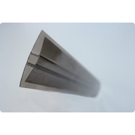 Профиль соединительный Н 6х6000 мм бронзовый