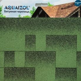 Битумная черепица Aquaizol Акцент Альпийский луг 320x1000 мм
