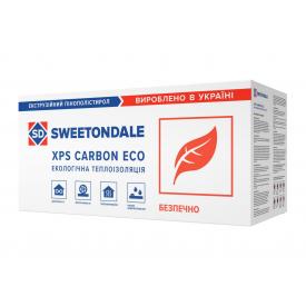 Пінополістирол екструдований XPS SWEETONDALECARBON ECO SP L 2360х580х100 мм