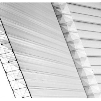 Сотовый поликарбонат Placarb 6000x2100х16 мм прозрачный