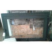 Дверцы для камина Классичиские чугунные со стеклом 660х460 мм