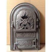 Дверцята для печей і камінів Корона Молдавії чавунні 550х335х60 мм