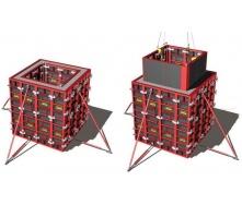 Знімна опалубка ROBUD STAYER для ліфтових шахт