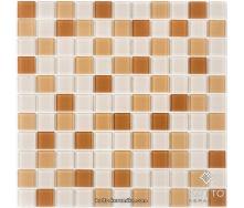 Стеклянная мозаика Котто Керамика GM 4016 C3 OCHRA D BEIGE M BEIGE W 300х300х4 мм