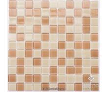 Стеклянная мозаика Котто Керамика GM 4038 C2 BEIGE M BEIGE W 300х300х4 мм