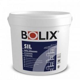 Краска силиконовая для наружных работ BOLIX SIL 10 л