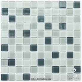 Стеклянная мозаика Котто Керамика GM 4042 C3 STEEL D STEEL M STEEL W 300х300х4 мм