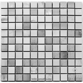 Керамическая мозаика Котто Керамика CM 3020 C2 GRAY WHITE 300x300x10 мм