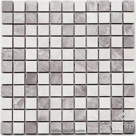 Керамическая мозаика Котто Керамика CM 3019 C2 GRAY WHITE 300x300x10 мм