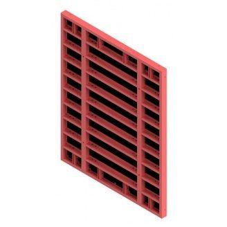 Щит опалубки ROBUD STAYMAX пофарбований 300х240 мм для перекриттів стін