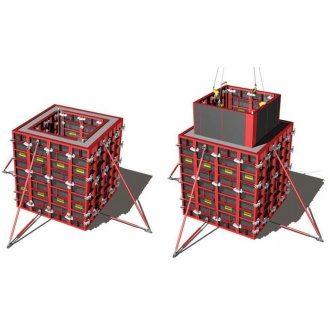 Опалубка съемная ROBUD STAYER для лифтовых шахт