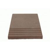 Плитка для ступеней MALTA-BETON 300х350х30 мм коричневая