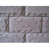Цокольная плитка MALTA-BETON Луганский камень 390х195х25 мм серая