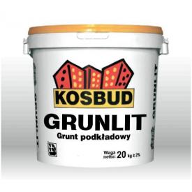 Акриловый грунт Kosbud GRUNLIT 20 кг