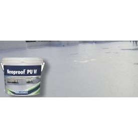 Жидкая мембрана для гидроизоляции кровли Neoproof PU W -40 полиуретановая