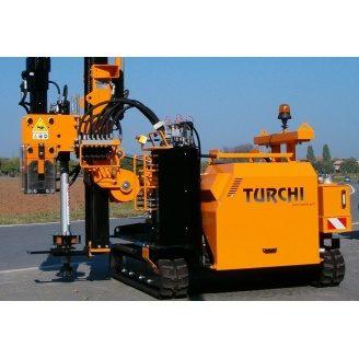 Аренда сваебойной самоходной машины Turchi-300