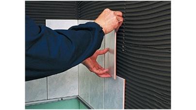 Технологія укладання плитки на гіпсокартон: матеріали та інструмент