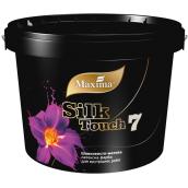 Латексная краска Silk Touch 7 MAXIMA белый шелковисто-матовый 12 кг