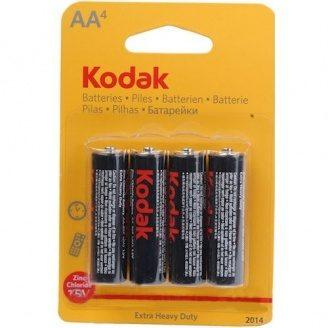 Сольова Батарейка Kodak Extra Heavy Duty R6