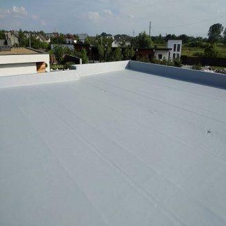 Гидроизоляция плоской крыши дома мембраной пвх