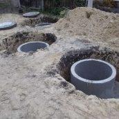 Реконструкція каналізації із залізобетонних кілець