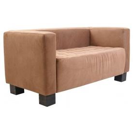 Двухместный диванчик Спейс Ричман 1500х740х740 ткань коричневая