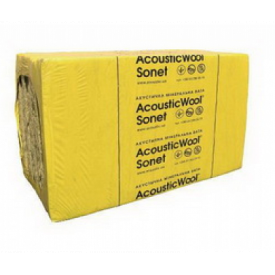 Акустическая минеральная вата AcousticWool Sonet P 80 кг/м3 2,4 м2/упак