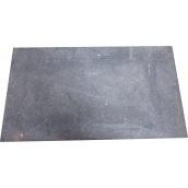 Плита чавунна пічна глуха ПГРВ 710х410 мм