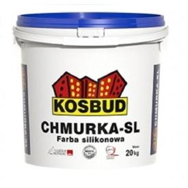Фасадная силиконовая краска Kosbud CHMURKA-SL 20 кг