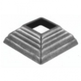 Пятка кованная металлическая 80х80х30х1,5 мм (44.150)
