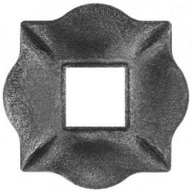 П'ята кована металева 100х100х10 мм (44.013)