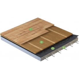 Деревоволокниста ізоляційна плита Steico floor 40x380x1220 мм