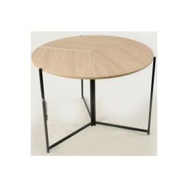 Розкладний круглий столик Орігамі Мікс-Укр 1100х750 мм