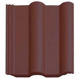 Черепиця цементно-піщана Vortex коричнева глянець