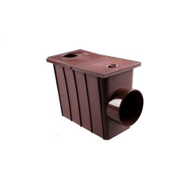 Колодец с боковым сливом система 90/75 мм