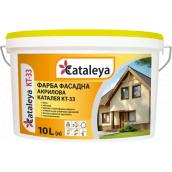 Фарба фасадна акрилова біла Каталея КТ-33 10 л