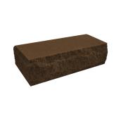Кирпич рваный тычковой T&Z Скала 230x100x65 мм темно-коричневый