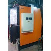 Твердотопливный котел с автоматизированной загрузкой топлива IGNIS 100 100 кВт