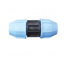 Муфта VS Plast 20х20 мм для полиэтиленовых труб соединительная