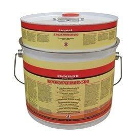 Эпоксидная грунтовка по сухому или влажному основанию Эпоксипраймер-500 4 кг