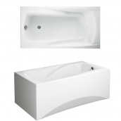 Акриловая ванна 170х85 см CERSANIT 01001