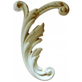 Элемент декора из гипса Де/059 18х14х2 см