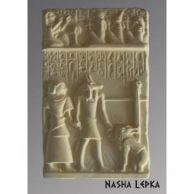 Гипсовая картина Єгипет Кр/022 20х12х2 см