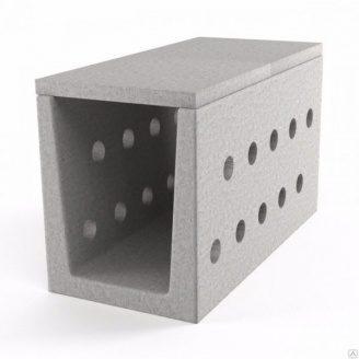 Блок дренажного междупутного лотка БМЛ-1.25