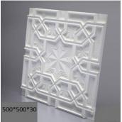 Гипсовые панели «Восток» 3D/11 50х50х2,5 см
