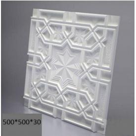 Гіпсові панелі «Схід» 3D/11 50х50х2,5 см