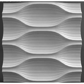 Гіпсові панелі «Moon» 3D/17 50х50х3,5 см