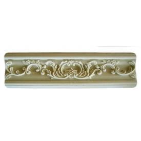 Декоративні гіпсові молдінги Мо/010 13,2х2,5 см